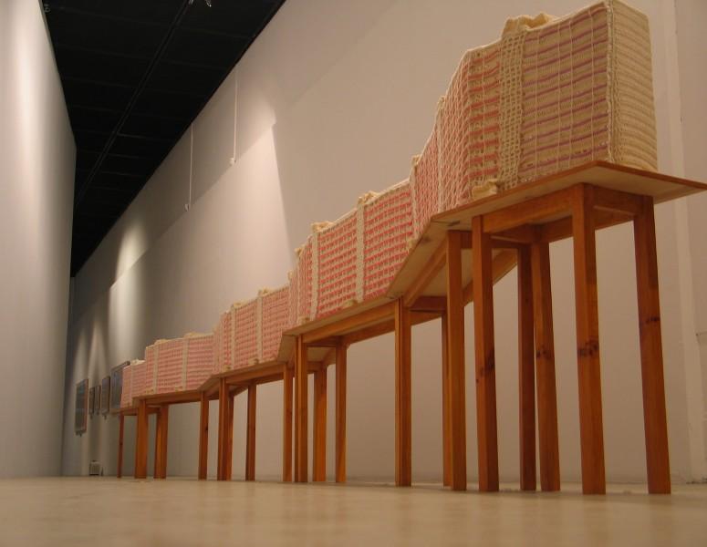 """Julita Wójcik, 'Falowiec"""" 2005-6, z kolekcji Zachęta Narodowej Galerii Sztuki w Warszawie"""