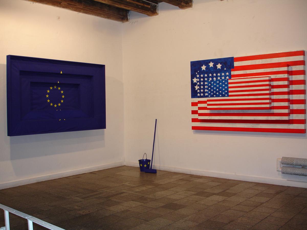 """Marcin Berdyszak """"After Jasper Johns"""", 2008, materiał udostępniony przez organizatora"""