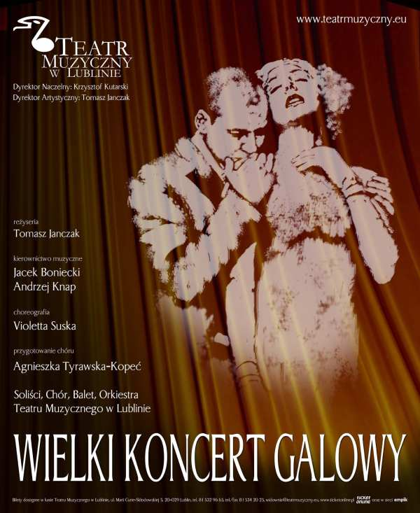 Wielki Koncert Galowy, plakat (zdjęcie pochodzi z materiałów organizatora)
