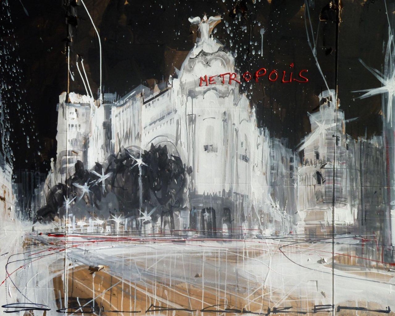 """Juan Angel Saiz Manrique """"Metropolis"""". Materiały udostępnione przez organizatora"""
