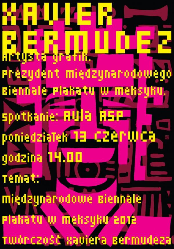 Plakat do wykładu wykonał Jan Bajtlik (STGU)