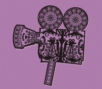 Festiwal Filmów Amatorskich Filmowe Zwierciadła, logo