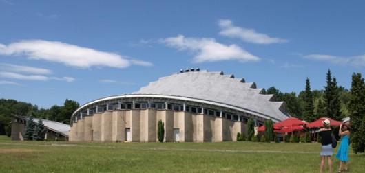 Hala Wystaw Kapelusz w Chorzowie, materiał udostępniony przez organizatora