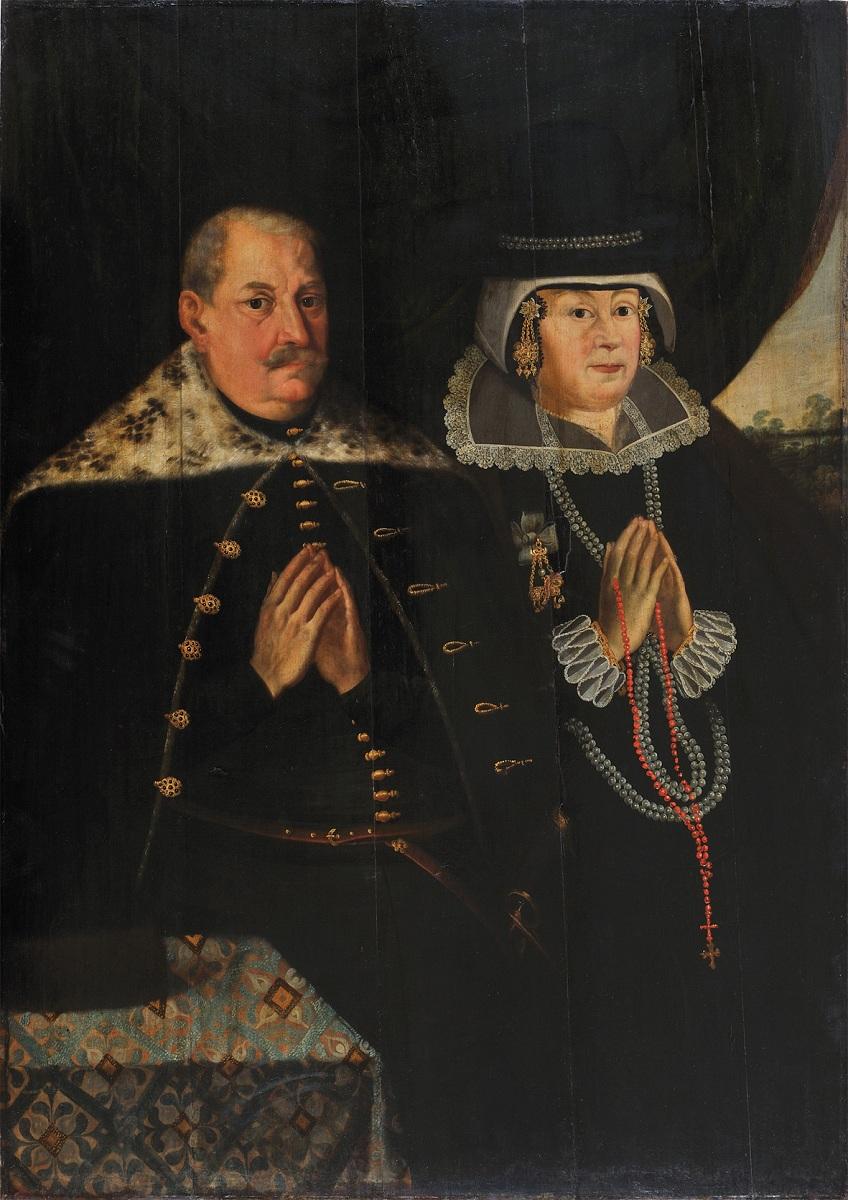 """Hermann Han """"Portret Epitafijny Jerzego i Anny Konopackich"""", ok.1625 roku, materiał udostępniony przez organizatora"""