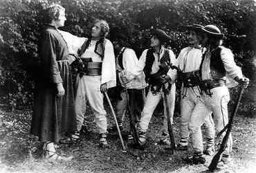 """""""Janosik"""", 1921 - kadr z filmu, materiał udostępniony przez organizatora"""