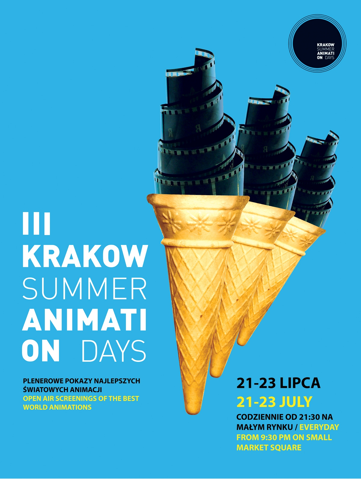 Krakow Summer Animation Days, plakat