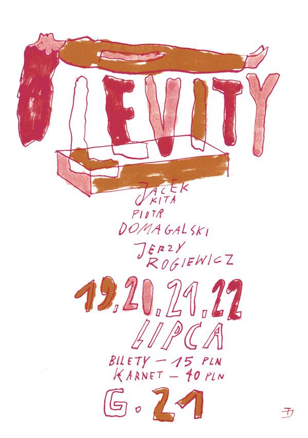 Levity - plakat (z materiałów udostępnionych przez organizatora)