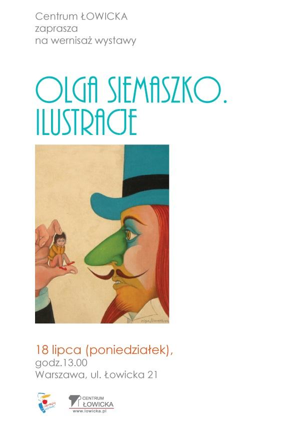 """Olga Siemaszko """"Ilustracje"""" - materiał udostępniony przez organizatora"""