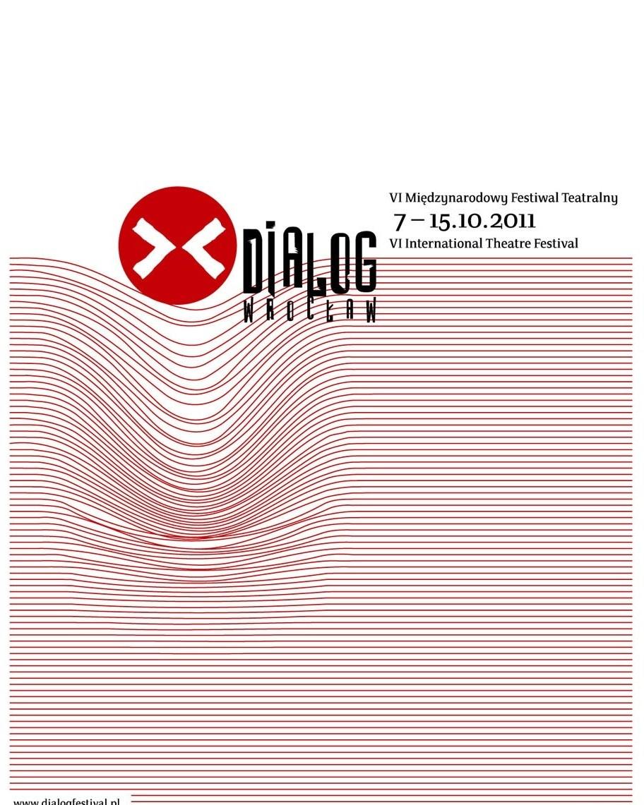 Plakat festiwalu Dialog we Wrocławiu (z materiałów organizatora)