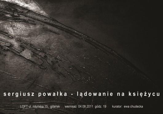 """Sergiusz Powałka """"Lądowanie na księżycu"""" - materiał udostępniony przez organizatora"""