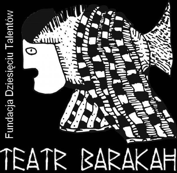 Logo Teatru Barakah, materiał udostępniony przez organizatora