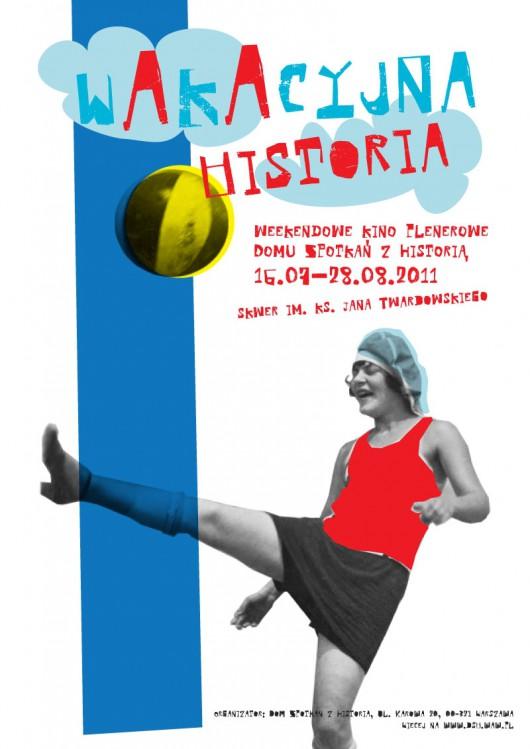 Plakat: Wakacyjna historia (materiał udostępniony przez DSH)