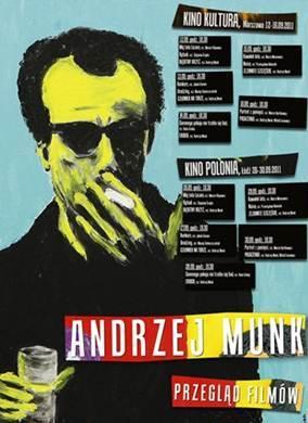 Andrzej Munk - Przegląd Filmów (plakat pochodzi z materiałów prasowych)