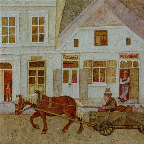 Ilustracja autorstwa Bogusława Orlińskiego (fot. Janusz Zimon)