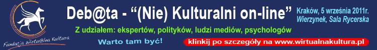 Debata (Nie)Kulturalni on-line