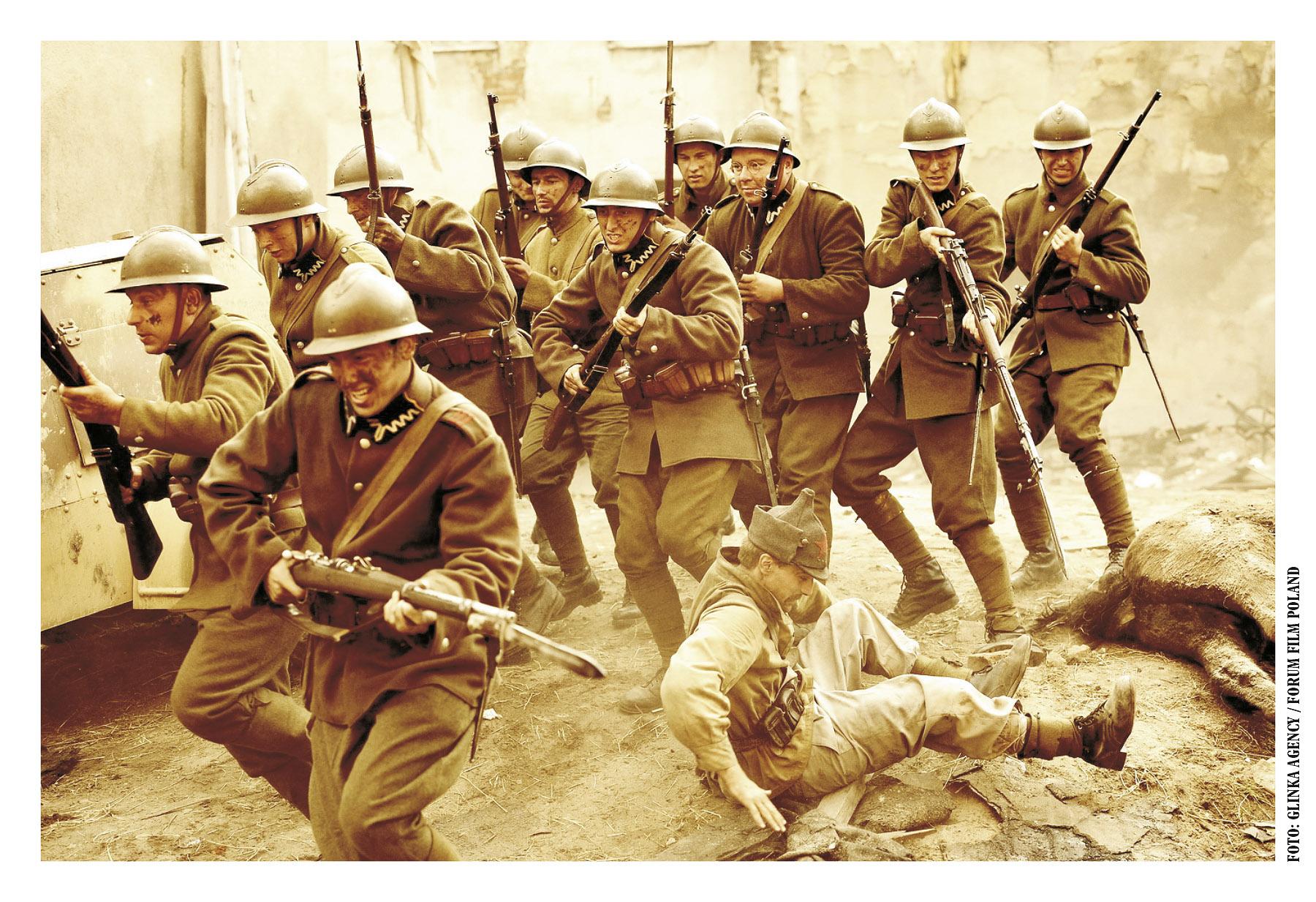 Kadr filmu 1920 Bitwa Warszawska, reż. Jerzy Hoffman