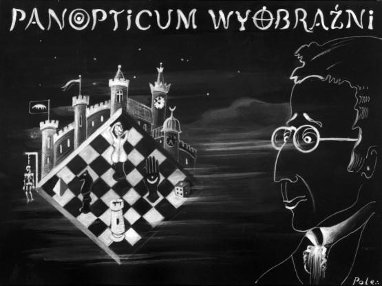 Rysunek Panopticum wyobraźni (rysunek pochodzi z materiałów udostępnionych przez organizatora)