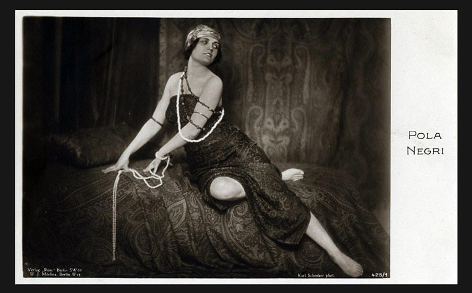 Pola Negri (zdjęcie pochodzi z materiałów udostępnionych przez organizatora)