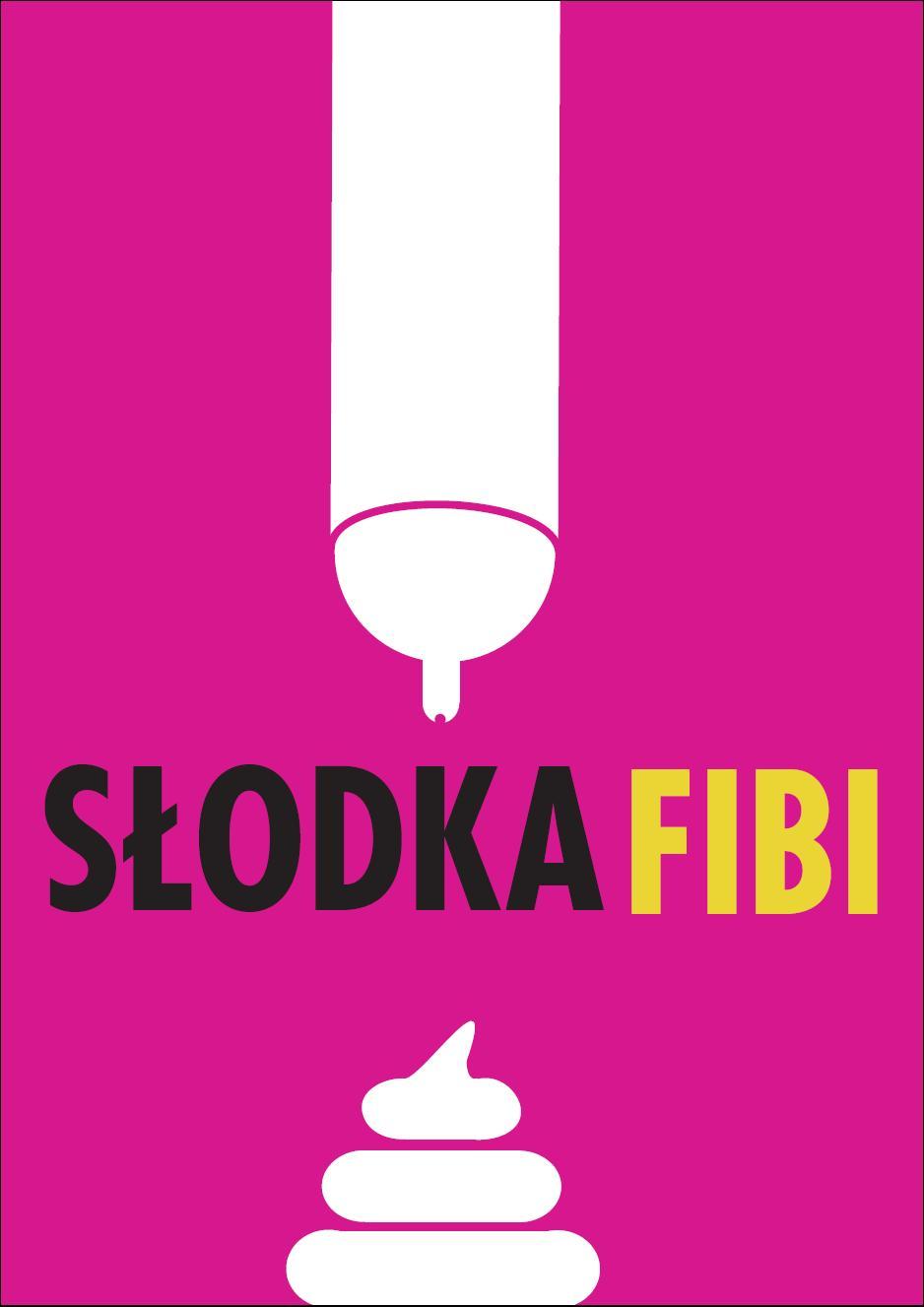 Projekt plakatu promującego Słodką Fibi (plakat pochodzi z materiałów udostępnionych przez organizatora)