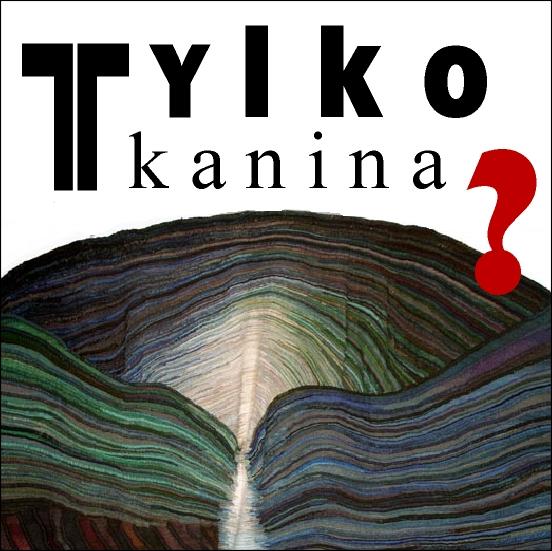Tylko tkanina?, logo, proj. Mirosław Owczarek (zdjęcie pochodzi z materiałów organizatora)