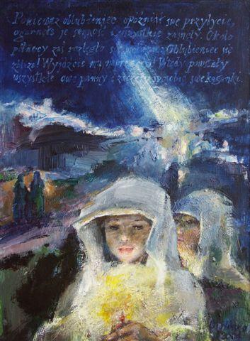 Ilustracja autorstwa Wandy Orlińskiej (fot. Janusz Zimon)
