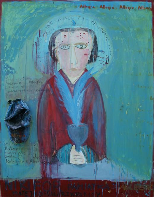 Piotr Ambroziak - malarstwo (źródło: materiał prasowy galerii)