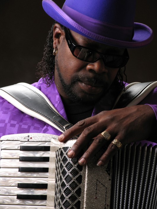 C.J. Chenier (źródło: materiały prasowe Rawa Blues Festival)