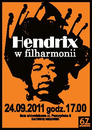 Hendrix w Filharmonii - plakat (źródło: materiały prasowe)