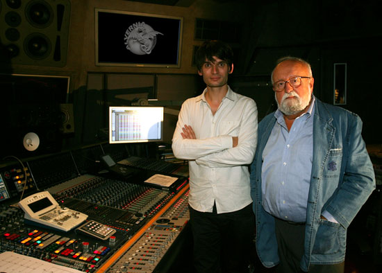 Jonny Greenwood i Krzysztof Penderecki (zdjęcie pochodzi z materiałów prasowych)
