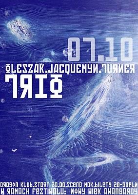 Oleszak / Jacquemyn / Turner TRIO (źródło: materiał prasowy organizatora)