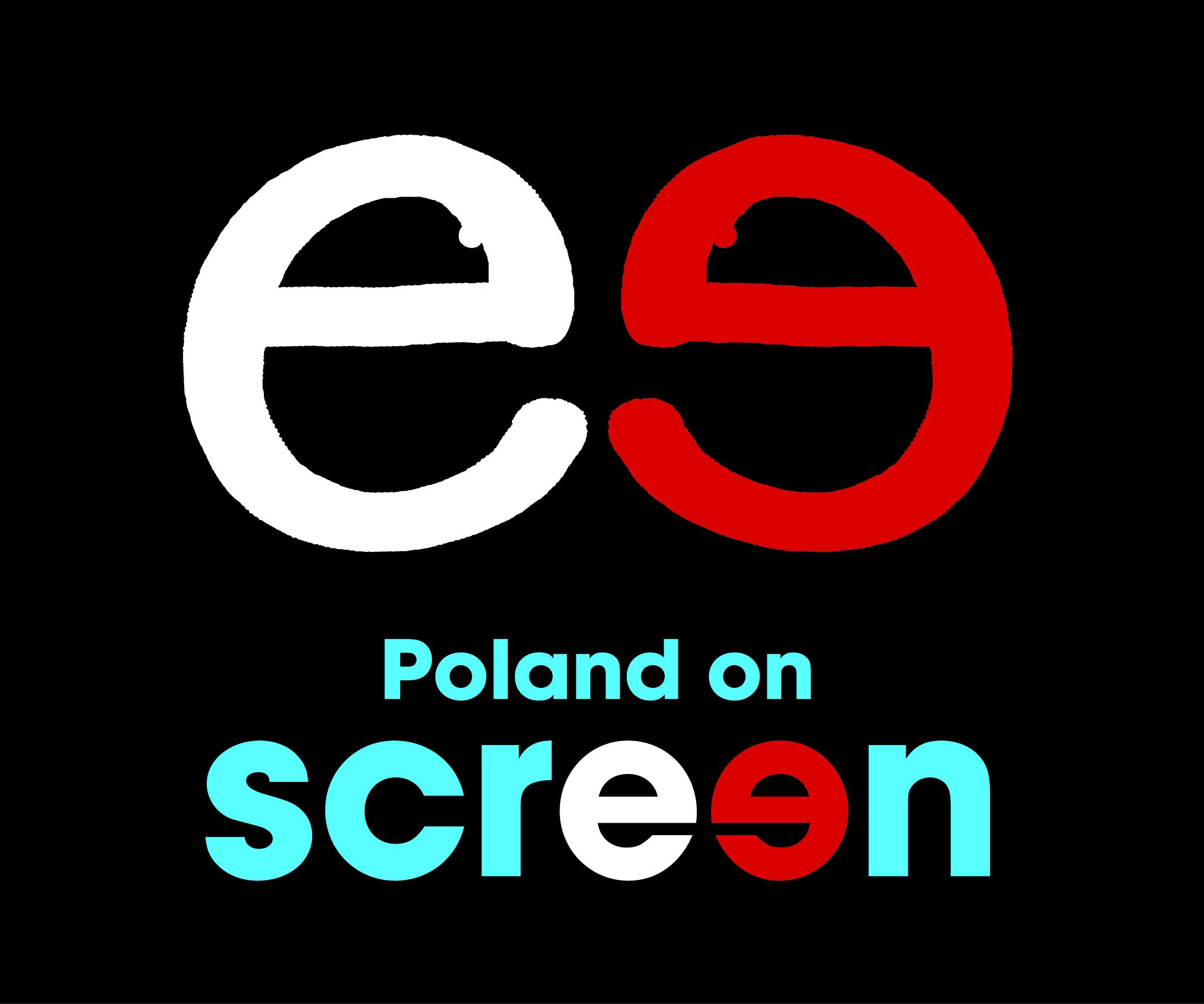 """""""Poland on screen"""" - logo (pochodzi z materiałów prasowych)"""