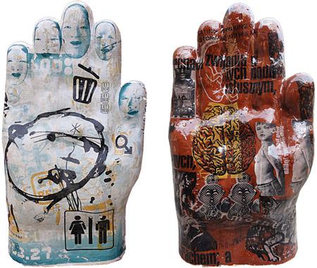 """Małgorzata Warlikowska, z serii """"Eat Your Mother"""", rzeźba - serigrafia na ceramice (zdjęcie udostępnione przez organizatora)"""
