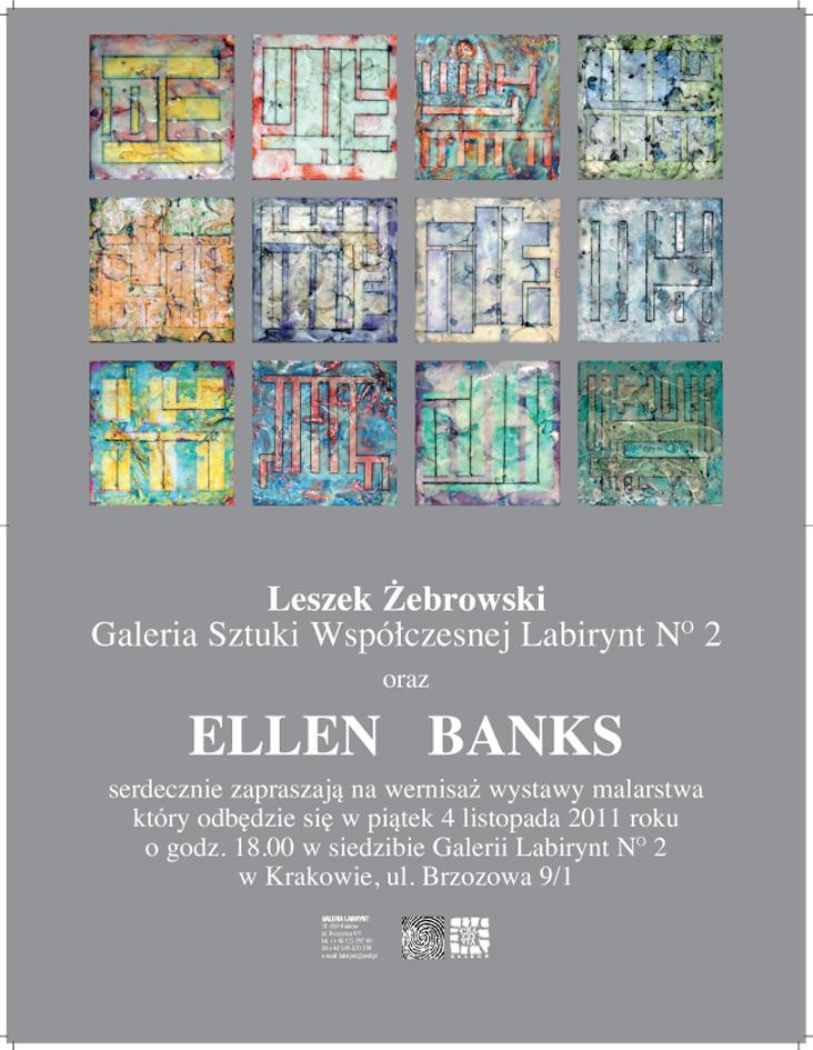 Ellen Banks - zaproszenie (źródło: materiał prasowy organizatora)