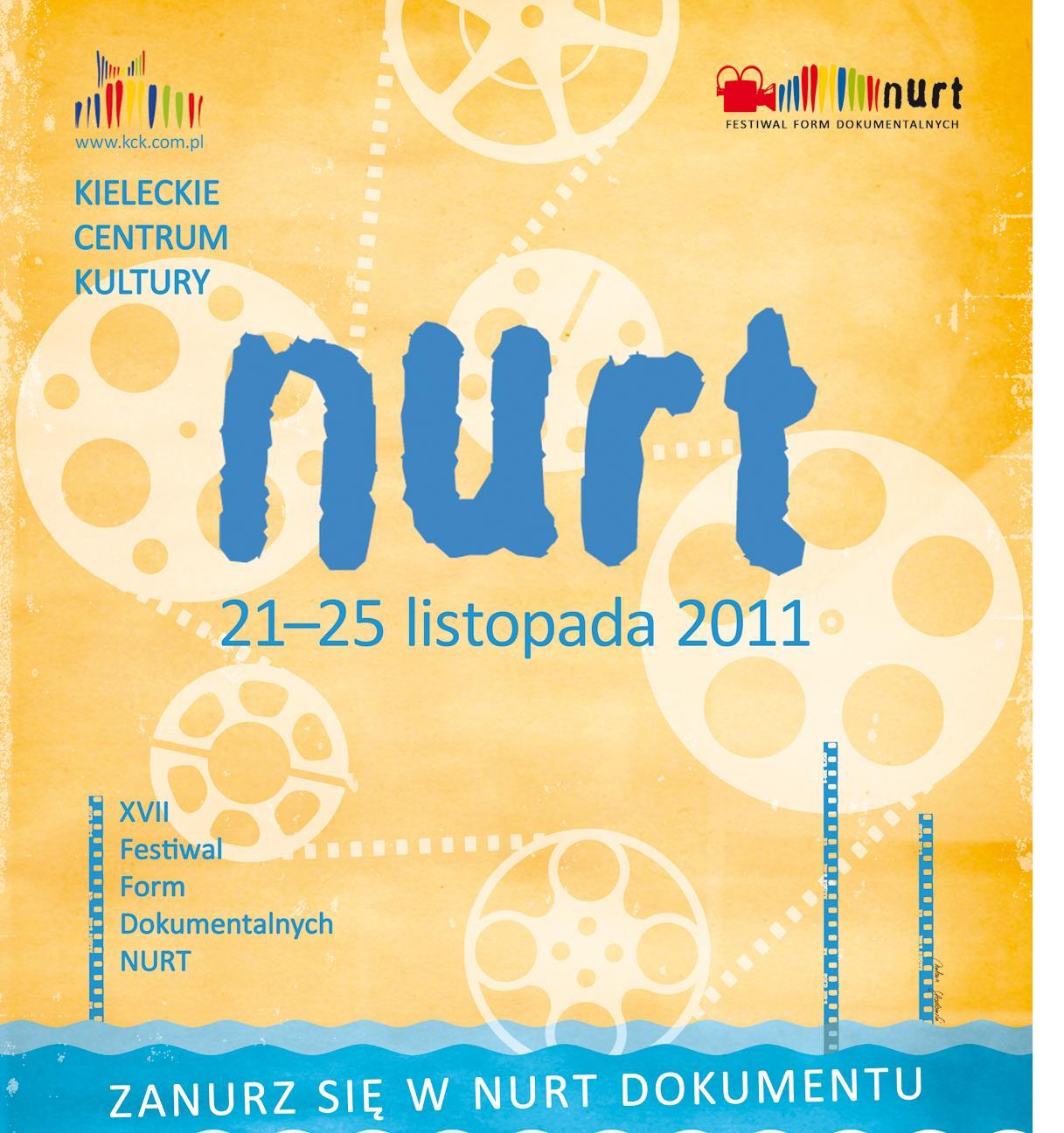 Festiwal Form Dokumentalnych NURT - plakat (źródło: materiały prasowe organizatora)
