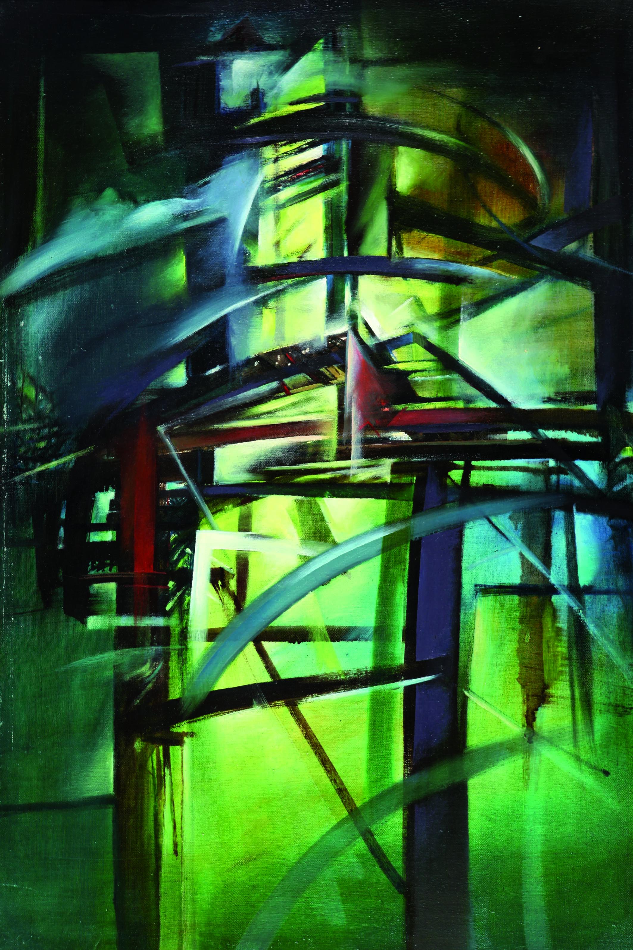 """Leszek Kwiatkowski: """"Fantasmagoria XII"""", 1986"""