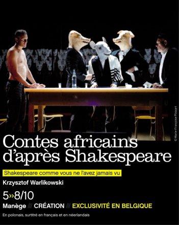 Opowieści afrykańskie według Szekspira - plakat