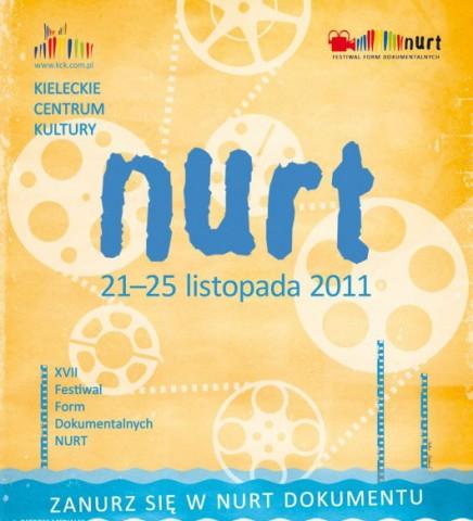 Plakat Festiwalu Form Dokumentalnych Nurt (źródło: materiał prasowy organizatora)