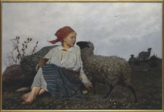 S. Witkiewicz, Na pastwisku, 1875, wł. Muzeum Narodowe w Warszawie (źródło: materiały prasowe organizatora)