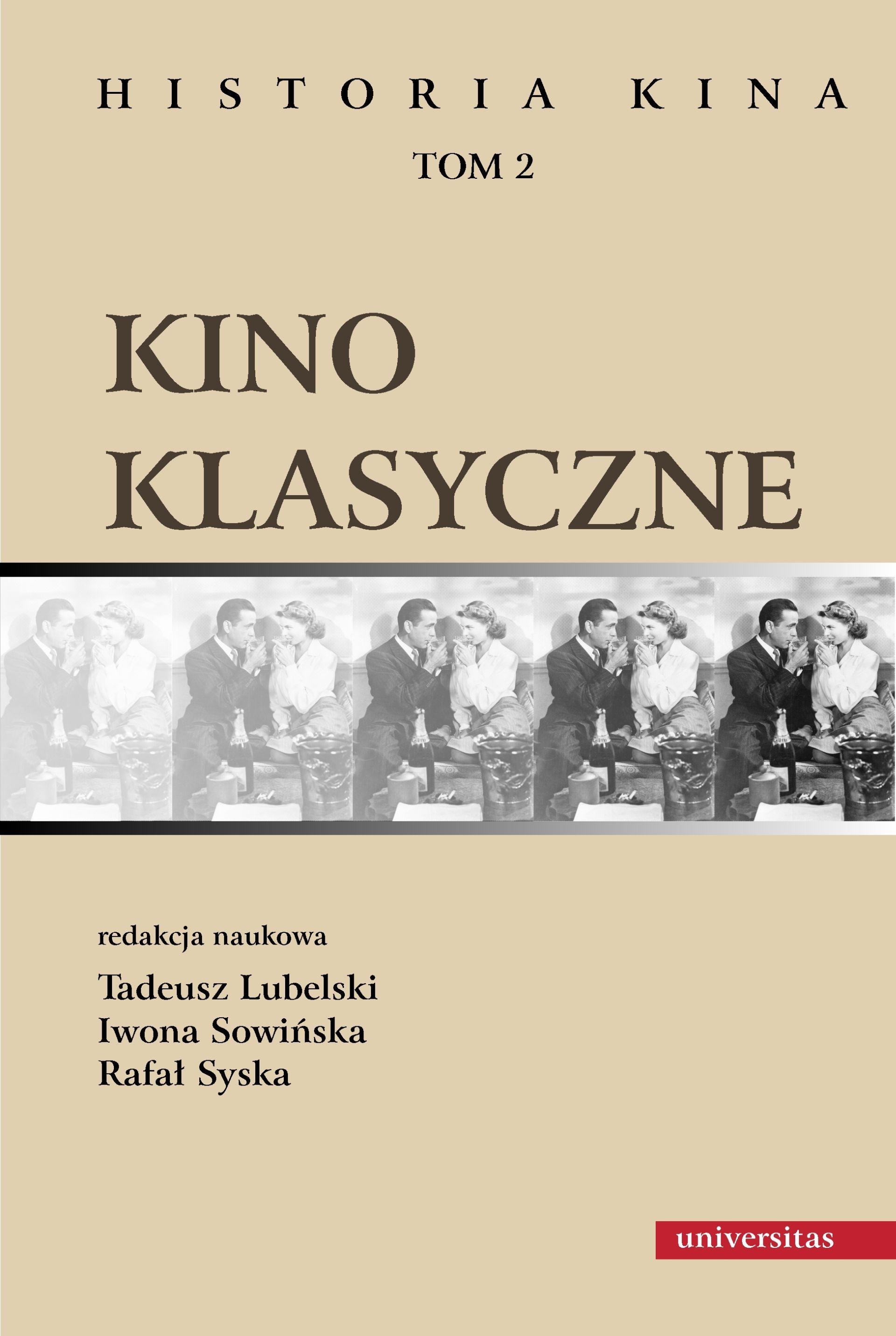 """Okładka książki """"Kino klasyczne. Historia kina"""" (materiały prasowe Universitas)"""