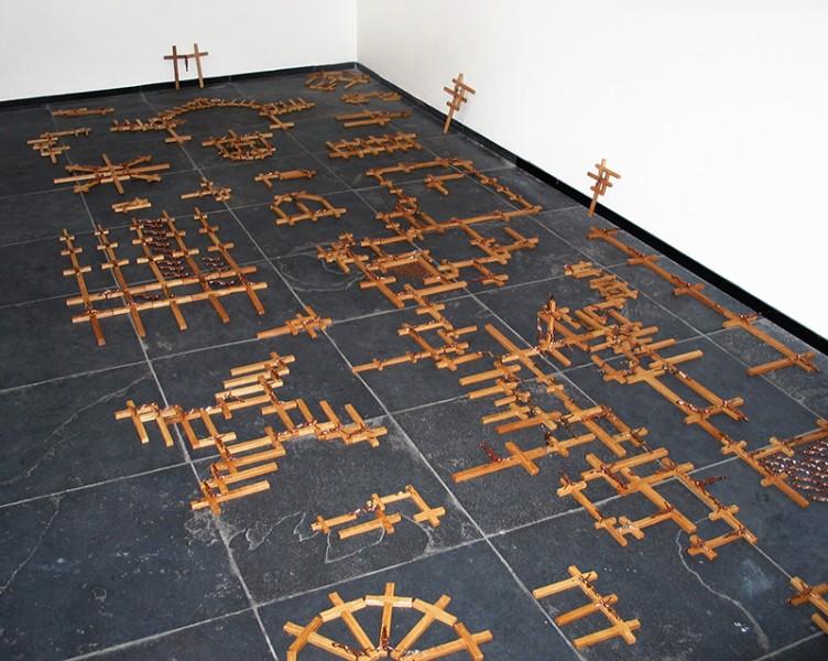 SZAF, Blesstonia, 2010, instalacja fot. archiwum Zsolt Petranyi (źródło:materiały prasowe organizatora)