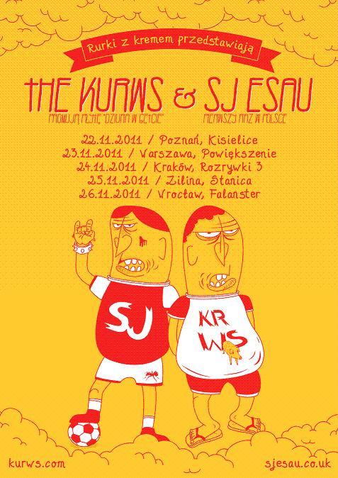 SJ ESAU & the KURWS (źródło: materiały prasowe organizatora)