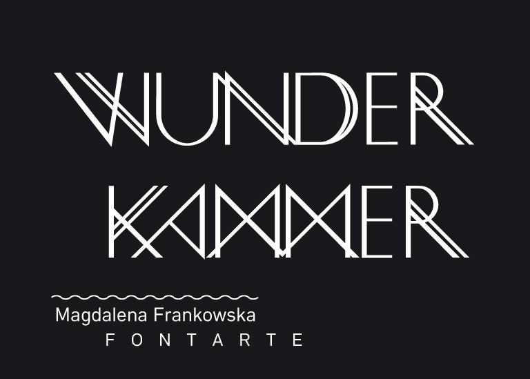 Wunderkammer -plakat promujący wystawę (źródło: materiały prasowe organizatora)
