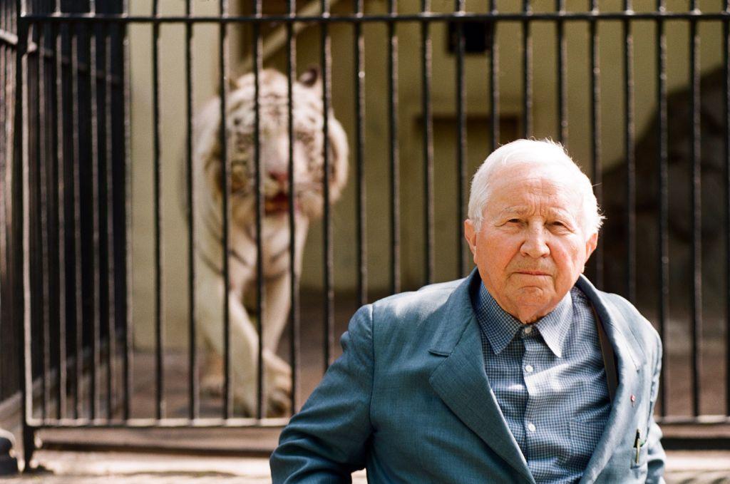 Fot.: Adam Hawałej, na zdjęciu: Tadeusz Różewicz (źródło: materiały prasowe Wrocławskiego Teatru Współczesnego)
