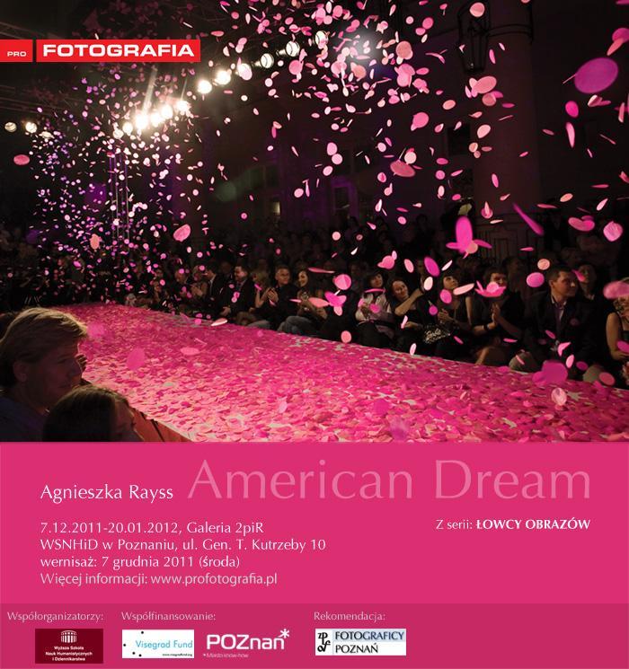 Zaproszenie na wystawę American Dream (źródło: materiały prasowe Instytutu Fotografii Profotografia)