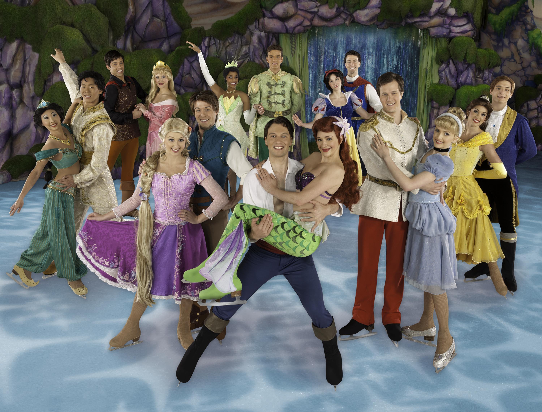 Przedstawienie Disney on Ice: Księżniczki i Herosi (źródło: materiał prasowy Alter Art)