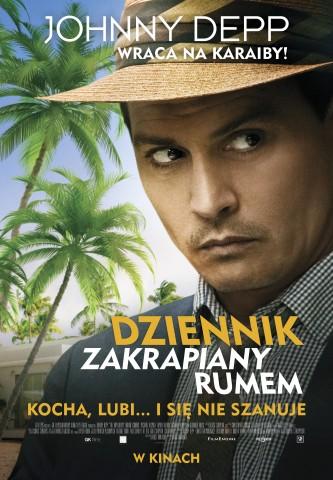 Plakat filmu Dziennik zakrapiany rumem (źródło: materiał prasowy dystrybutora)