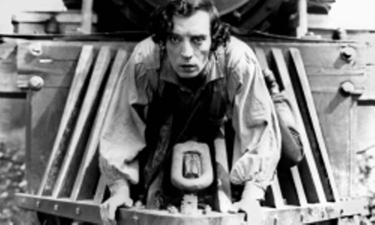 Kadr z filmu Generał z Busterem Keatonem (źródło: materiał prasowy organizatora)