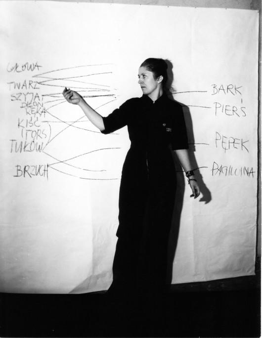 """Barbara Kozłowska, """"Arytmia"""", 1980 (źródło: materiały prasowe)"""