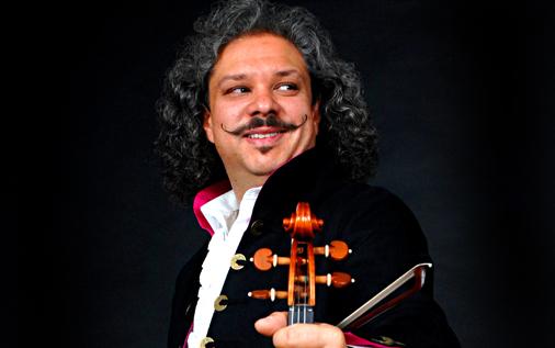 Roby Lakatos (źródło: materiały prasowe Simfonietta Cracovia)
