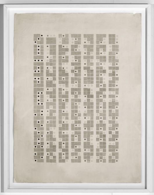 Gego, Almanaque Calendar (1968-69) 106x78 cm, litografia (źródło: materiały prasowe)